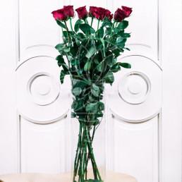 Букет из 11 красных роз 100 см Эквадор